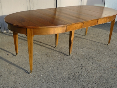 table ovale allonges 6